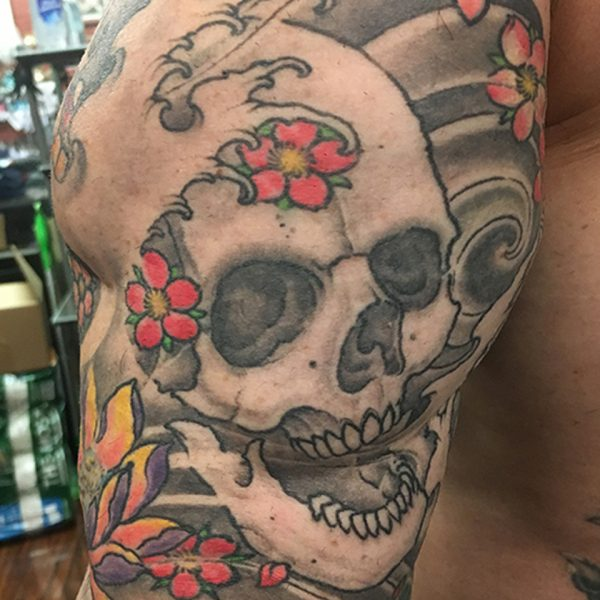 New Skull Tattoo