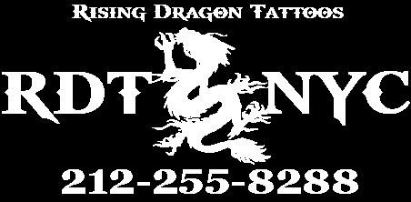 rising dragon tattoos new york city tattoo parlor