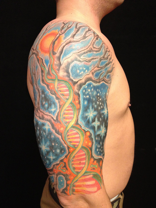 Color and nature rising dragon one of the best tattoo for Top 10 tattoo shops in nyc