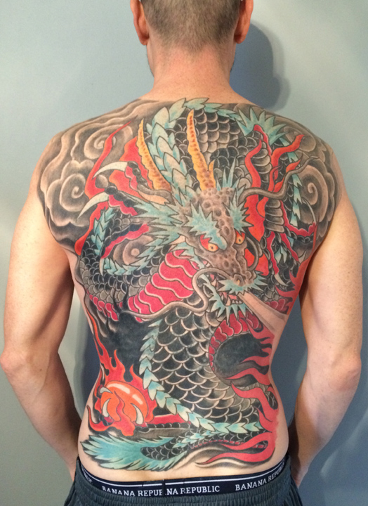 Dragon tattoos rising dragon one of the best tattoo for Tattoo shops in new york