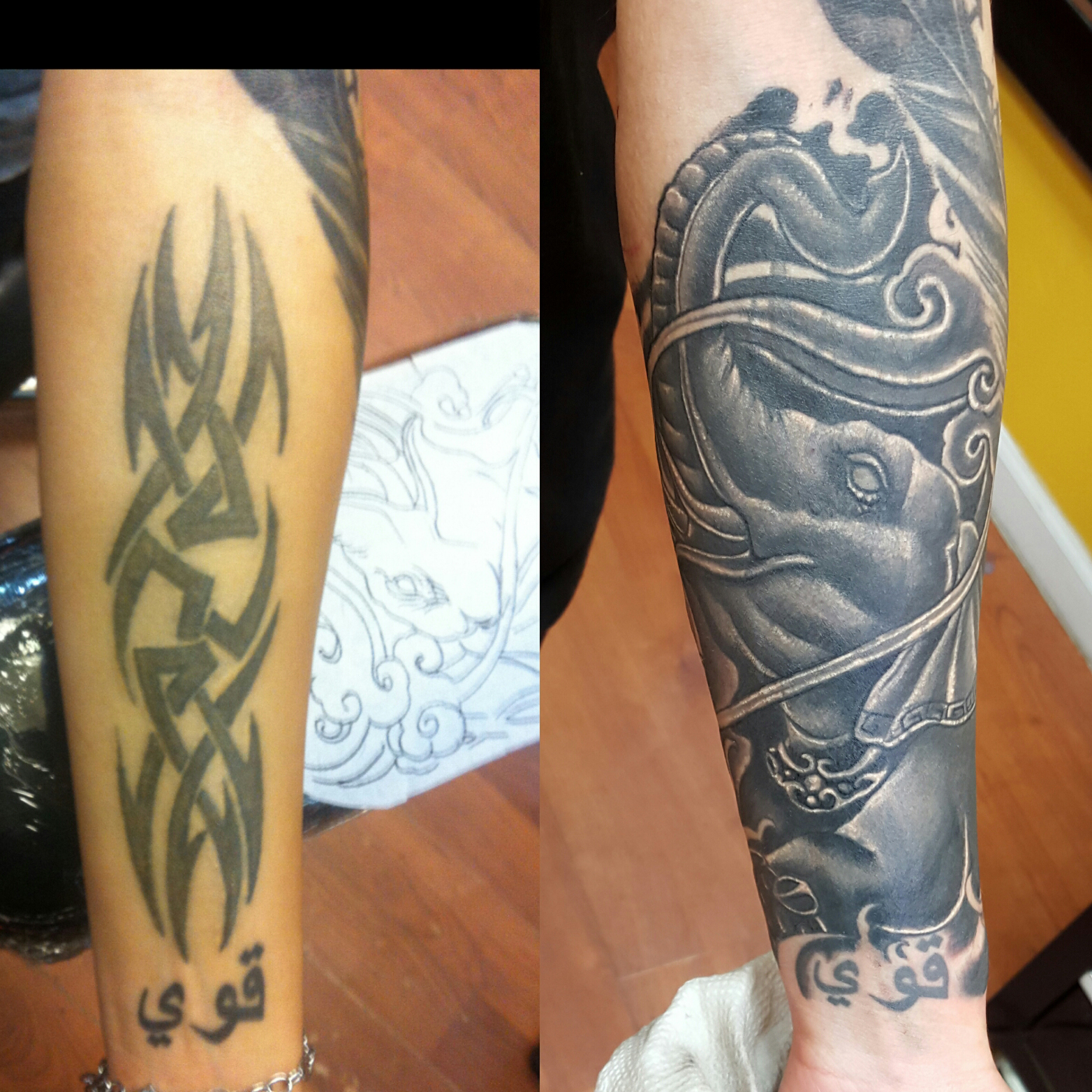 Cover up tattoos rising dragon one of the best tattoo for Famous tattoo artists nyc