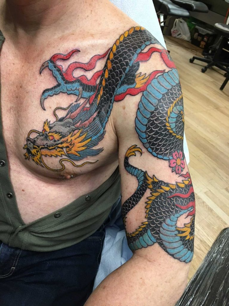d9fb79241 New York Tattoo Parlor | Rising Dragon, One Of The Best Tattoo Shops ...